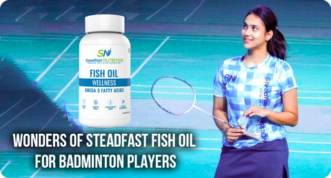 FISH OIL FOR BADMINTON PLAYERS