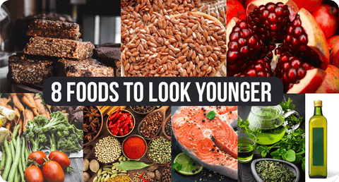 8 FOODS TO LOOK YOUNGER