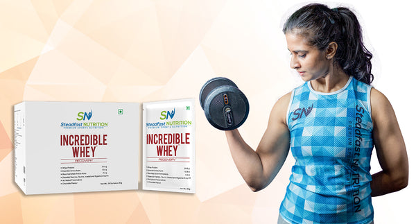 STEADFAST ATHLETE SUPRIYA SHARMA'S FAVOURITE