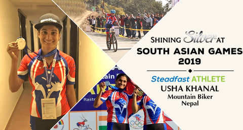 SHINING SILVER AT SOUTH ASIAN GAMES 2019