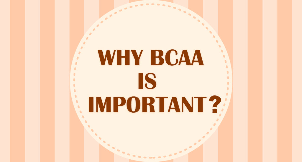 WHY BCAA IS IMPORTANT