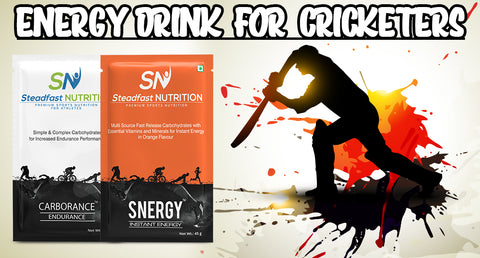 ENERGY DRINK FOR CRICKETERS