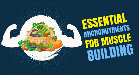 ESSENTIAL MICRONUTRIENTS FOR MUSCLE BUILDING