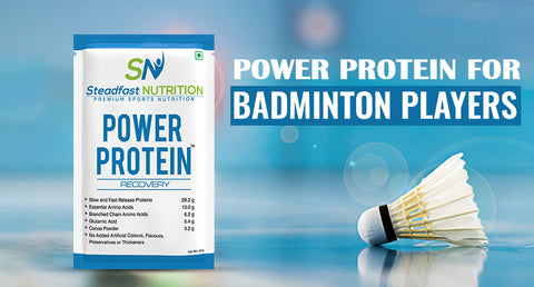 POWER PROTEIN FOR BADMINTON PLAYERS