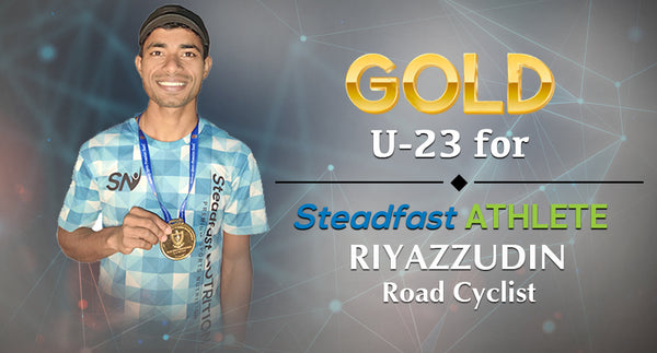 RIYAZZUDIN - WINS GOLD U-23 ROAD NATIONAL CHAMPIONSHIP