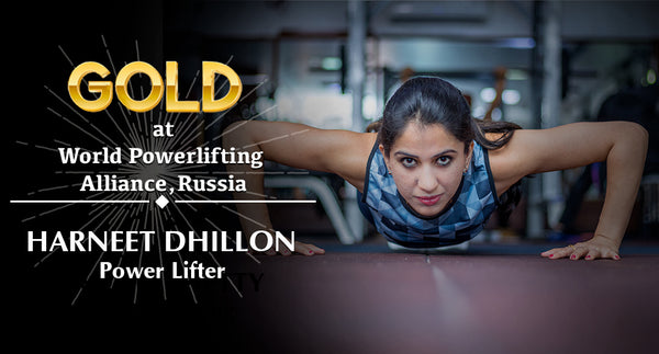 STEADFAST ATHLETE HARNEET LIFTS GOLD & SILVER AT WORLD POWERLIFTING ALLIANCE