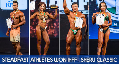 STEADFAST ATHLETES WON IHFF: SHERU CLASSIC