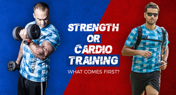 STRENGTH OR CARDIO TRAINING : WHAT COMES FIRST?