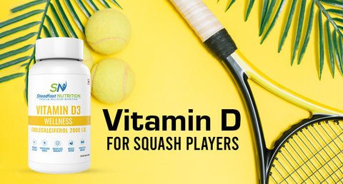 VITAMIN D FOR SQUASH PLAYERS