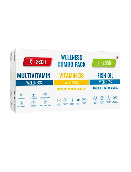 BEST WELLNESS COMBO PACK