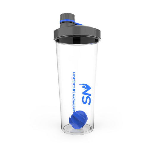 Blue Steadfast Nutrition Shakers