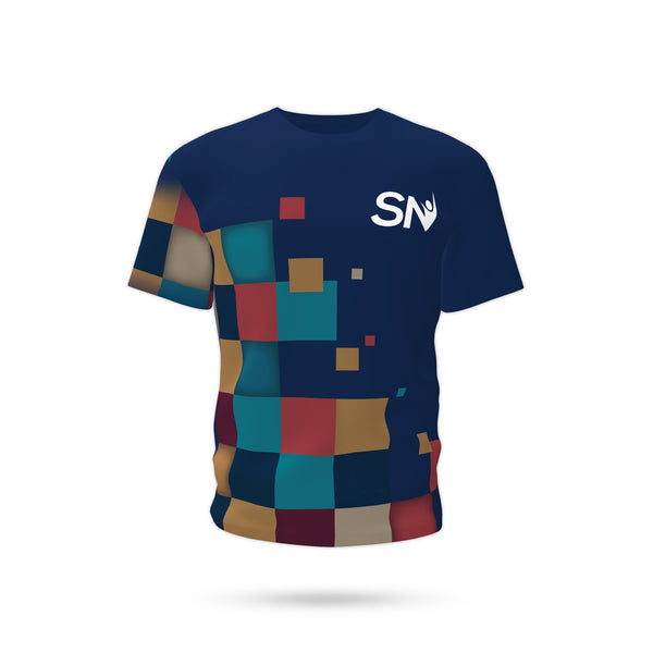 Square Blue T-Shirt