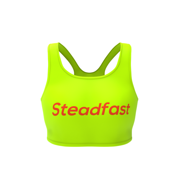 Steadfast Neon Crop Top Leggings Set