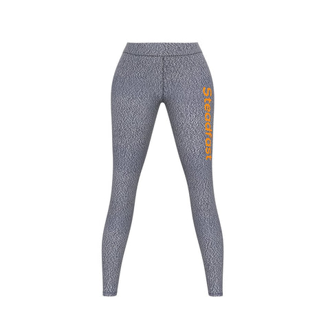 Steadfast Grey Crop Top Leggings Set
