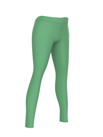 Steadfast Light Green Crop Top Leggings Set