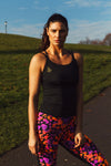 Jet Black Sports & Yoga Top