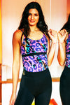 Electro Leopard Sports & Yoga Top