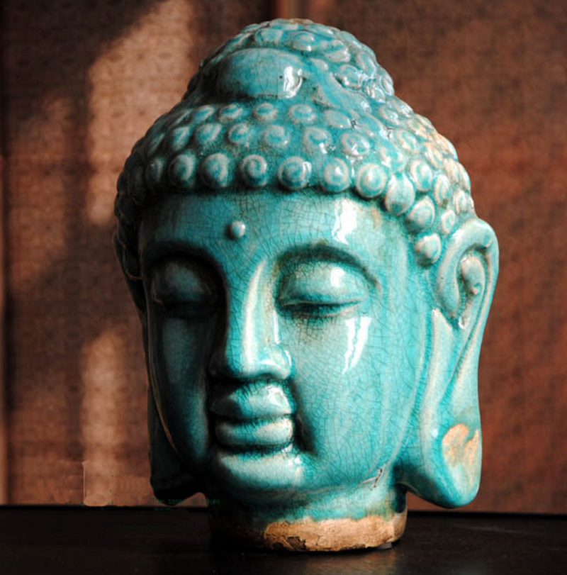 Meditating Buddha - Statue - altar & room decor