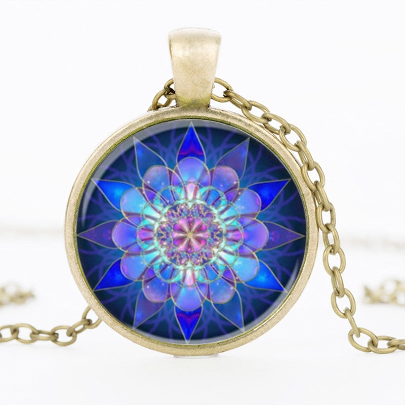 Sacred Geometry Pendant Necklace - Free Shipping