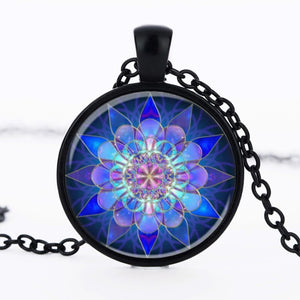 Sacred Geometry Pendant Necklace - Rainbowgrove Dreams