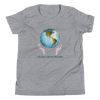 Vegan Kids T-shirt - Vegan Gift Idea - Earth