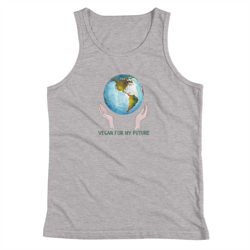 Vegan Kids Tank - Vegan Gift Idea - Vegan For my Future