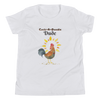 Vegan Kids T-shirt - Vegan Gift Idea - Rooster Dude