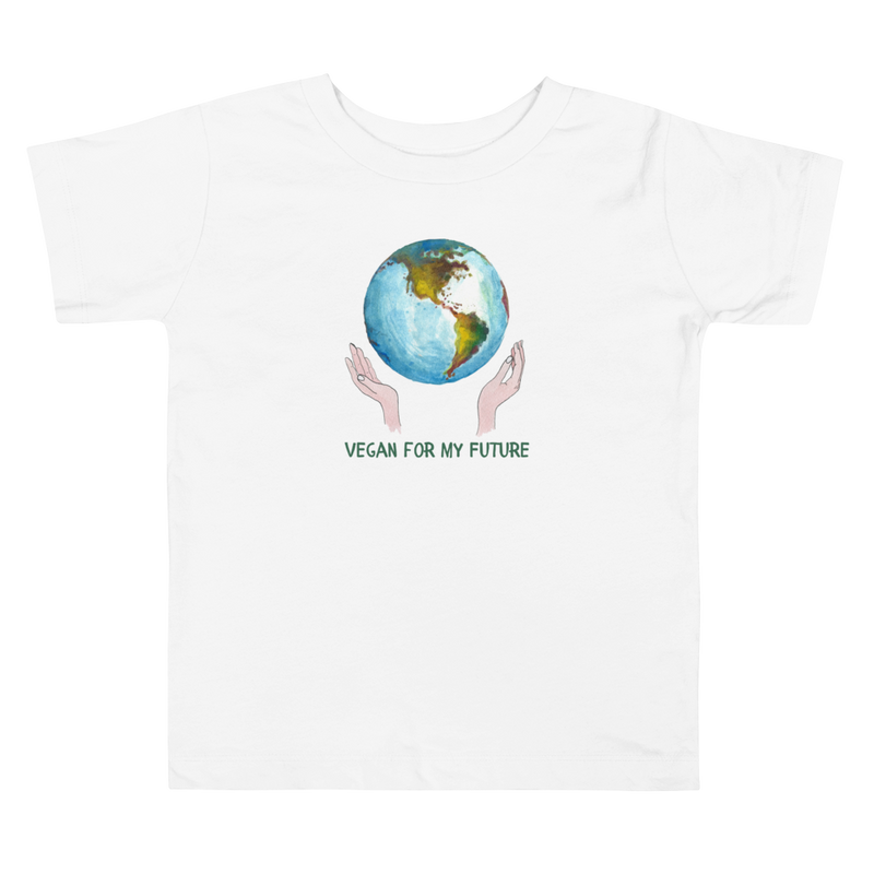 Vegan Toddler T-shirt - Vegan Earth - Baby Shower Gift Idea