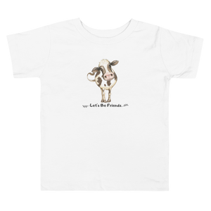 Vegan Toddler T-shirt - Cow - Baby Shower Gift Idea