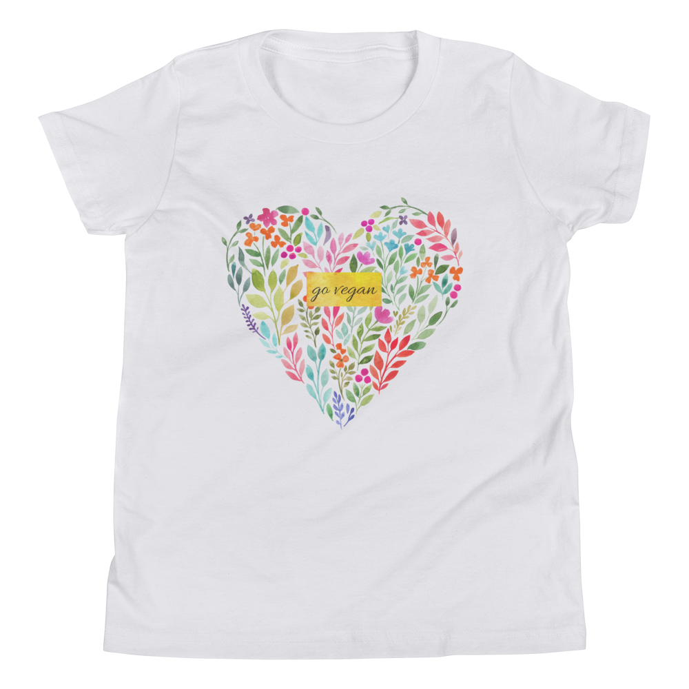 Vegan Kids T-shirt - Vegan Gift Idea - Go Vegan