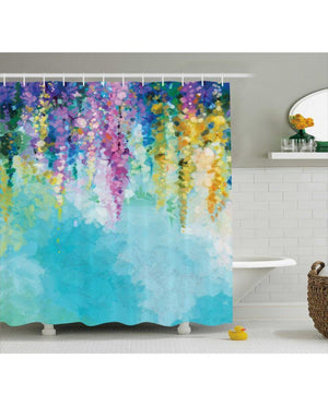 Blossoms - Shower Curtain