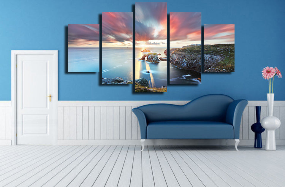 Dreamy Coastal Sky - Nature Inspired - Canvas Wall Art