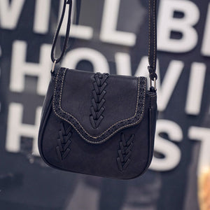 Vintage Crossbody Saddle Bag