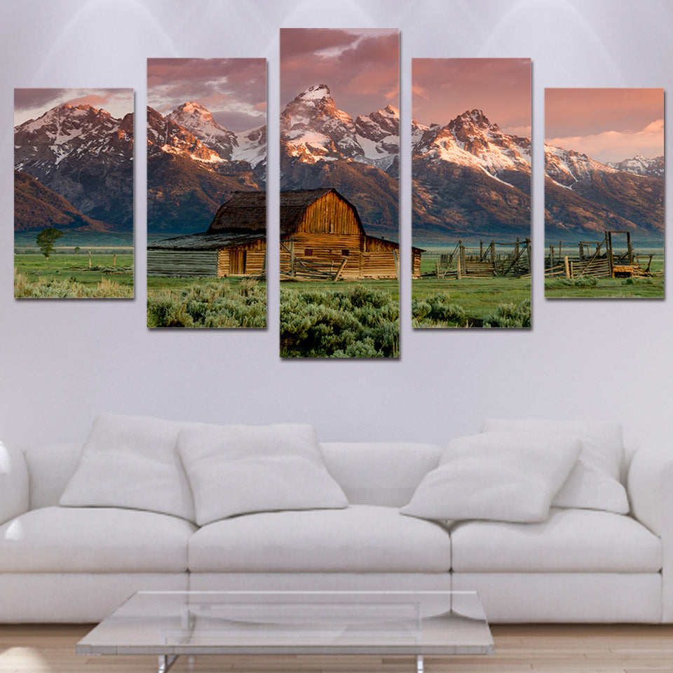 Rocky Mountain Meadow - Nature Inspired - Wall Art