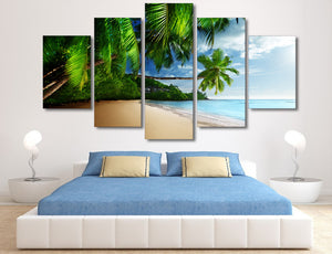 Under the Palms - Nature Inspired - Canvas Wall Art