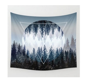 Tree Forest - Tapestry - Boho - Vegan Gift Idea