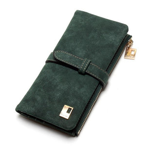 Faux Leather Wallet - Vegan - Faux Leather - Gift