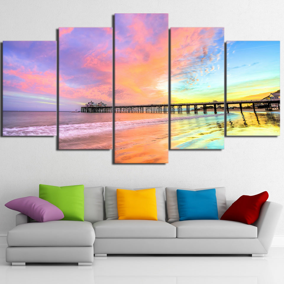 Colorful Reflections - Inspired by Nature - Canvas Wall Art