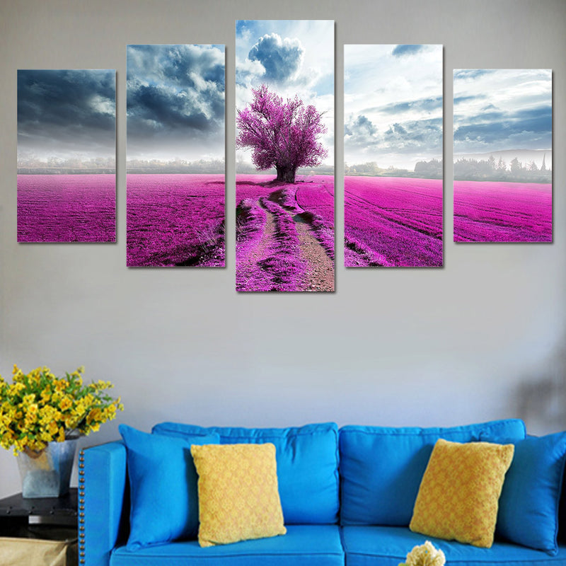 Dreamy Sky and Earth - Wall Art - Vegan Gift - Nature Art