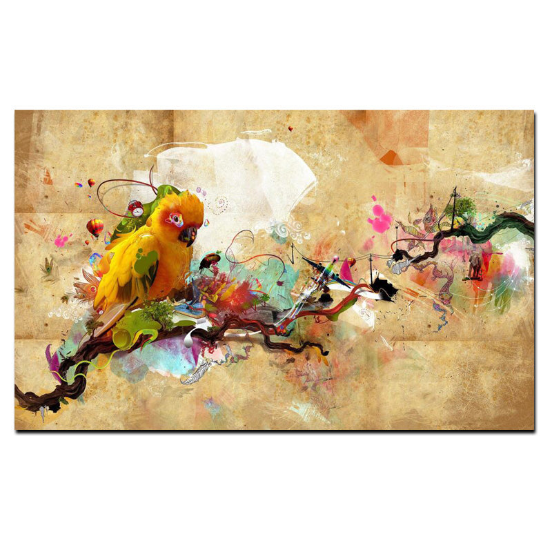 Surrealism - Animal Wall Art on Canvas - Vegan Gift Idea ...