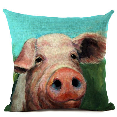Pig Pillow Cases