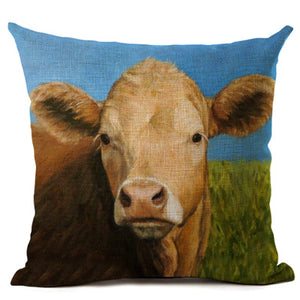 Cow Pillow Case - Vegan Gift Idea