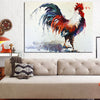 Rooster Canvas Wall Art - Vegan and Nature Inspired Art