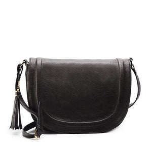 Classic Saddle Bag - Vegan Hand Bag