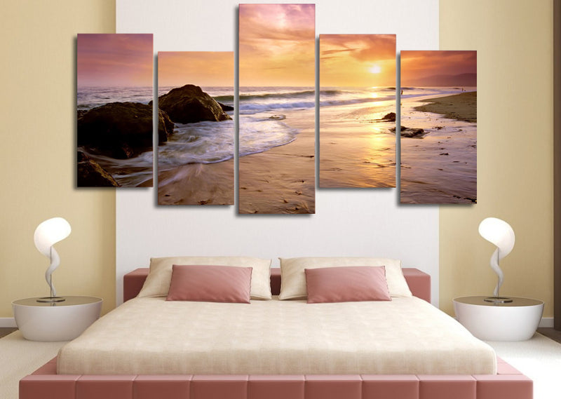Serenity Beach - Nature Inspired - Canvas Wall Art