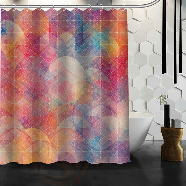 Colorful Designs - Shower Curtains
