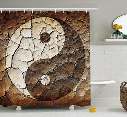 Yin Yang - Shower Curtain