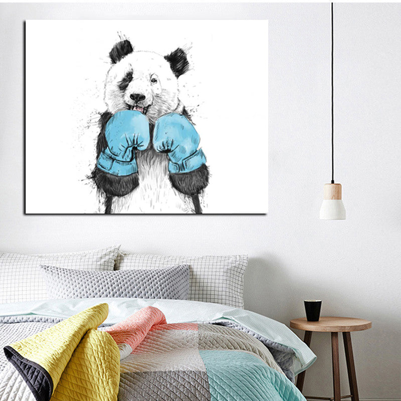 Panda Print - Animal - Vegan - Nature Inspired Wall Art