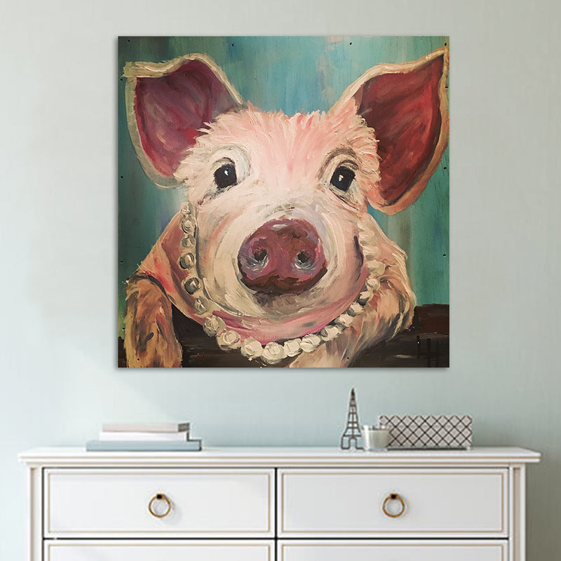Pig Wall Art - Inspired by Nature Vegan Wall Art