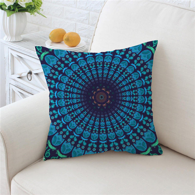 Boho Mandala Pillow Case